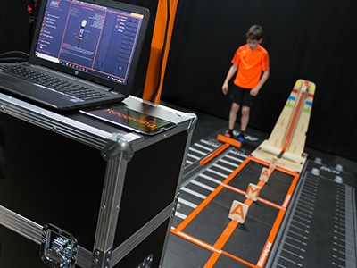The AMAT platform uses gaming technology to monitor the training of young athletes.. Link to The AMAT platform uses gaming technology to monitor the training of young athletes..