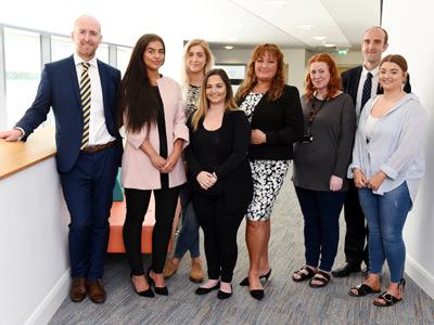 David Norris, Lauren Dixon, Eleanor Donaldson, Kathryn Gunn, Richinda Taylor, Caitlin Armstrong, Simon Hanson and Paige Wilton.
