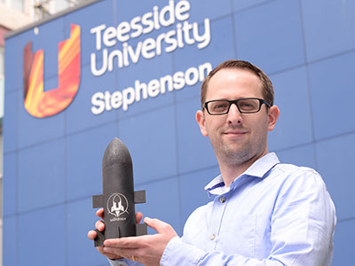 Andrew Dunn. Link to Student aerospace project reaches for the stars thanks to funding boost.