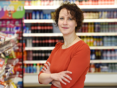 Dr Amelia Lake.. Link to Government urged to stay on course with energy drinks ban as report is published.