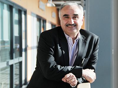 Professor Nashwan Dawood.. Link to Teesside University recognised in UK's best breakthrough list .