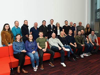 Members of the PD Ports cohort of the Chartered Manager Degree Apprenticeship. Link to PD Ports to create future leaders through degree apprenticeships.
