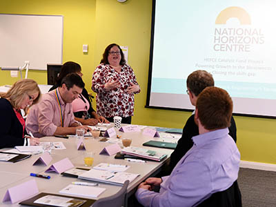 Focus groups are being held to determine the priorities for the new National Horizons Centre.. Link to Focus groups are being held to determine the priorities for the new National Horizons Centre..