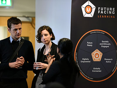 Link to Teaching excellence recognised through digitally empowering staff.