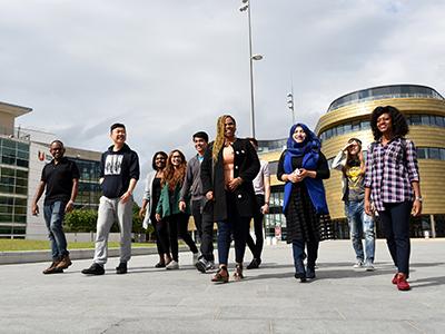 International students at Teesside University. Link to International students at Teesside University.