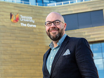 Lee Bramley, Teesside University graduate and Managing Partner of Endeavour Partnership.. Link to Alumnus takes the helm of leading law firm.