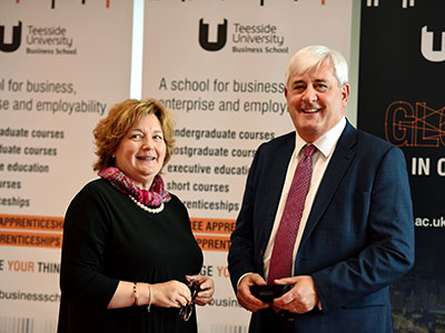 Paul Drechsler CBE and Dr Susan Laing.. Link to Paul Drechsler CBE and Dr Susan Laing..