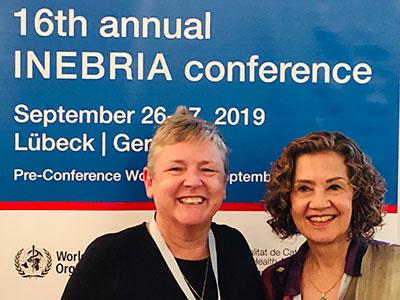 Professor Newbury-Birch, left, with Professor Professor Formigoni. Link to Professor Newbury-Birch, left, with Professor Professor Formigoni.
