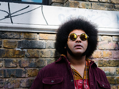 Musician Dylan Cartlidge who will be speaking at the 'Opening Doors for Care Leavers' hackathon at Teesside University. Link to Hackathon will help young people in foster care.