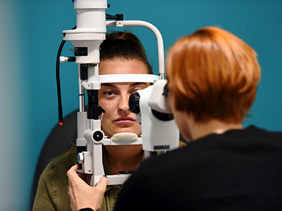Link to New Teesside Optometry course to address regional eye health needs.