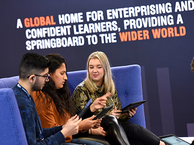 Students at Teesside University Business School are to benefit from a series of new scholarships to help them realise their potential. . Link to Students at Teesside University Business School are to benefit from a series of new scholarships to help them realise their potential. .
