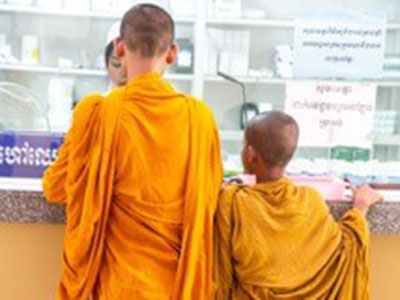 Link to Photographic exhibition celebrates charity's work in Cambodia.