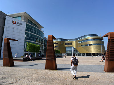 Staff at Teesside University are preparing to welcome students back to campus. Link to Teesside University sets out plans to welcome students in September.