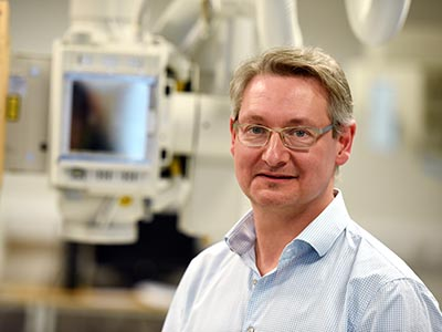 Dr Philip Cosson.. Link to Prestigious teaching fellowship for radiographer .