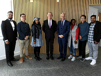 Link to Success for first cohort of Vice-Chancellor's scholars.