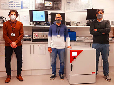 Link to Research team develop pioneering battery management for electric cars.