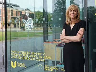 Sharon Paterson, Associate Director of Culture and Engagement at MIMA and Teesside University. Link to New SME Bounce Back funding programme launched by  Creative Fuse Tees Valley.