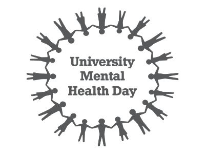 Link to Teesside University championing positive mental heath.