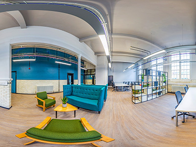 The newly refurbished Launchpad at Teesside University's Victoria Building. Chapman Brown Photography. . Link to Ambitious approach sees Teesside University in top 10% in England for enterprise.