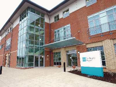 BMI The Meriden Hospital, Coventry. Link to Apprenticeships and CPD modules expand in BMI Healthcare partnership with Teesside University.