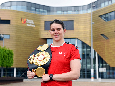 Savannah Marshall has completed BSc (Hons) Applied Sport and Exercise. Link to Teesside University student wins national sporting title.