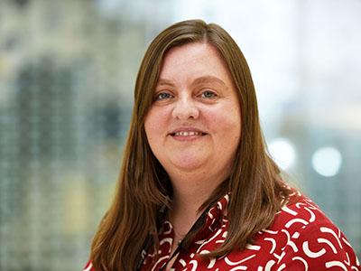 Professor Vikki Rand, Head of Biosciences Research. Link to Professor Vikki Rand, Head of Biosciences Research.