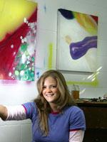 Artist Hannah Campion