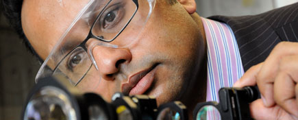 Dr Meez Islam.. Link to Teesside University research praised in Parliament.