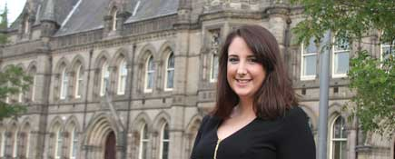 Kim Richards.. Link to New role leads to master's qualification for Kim.