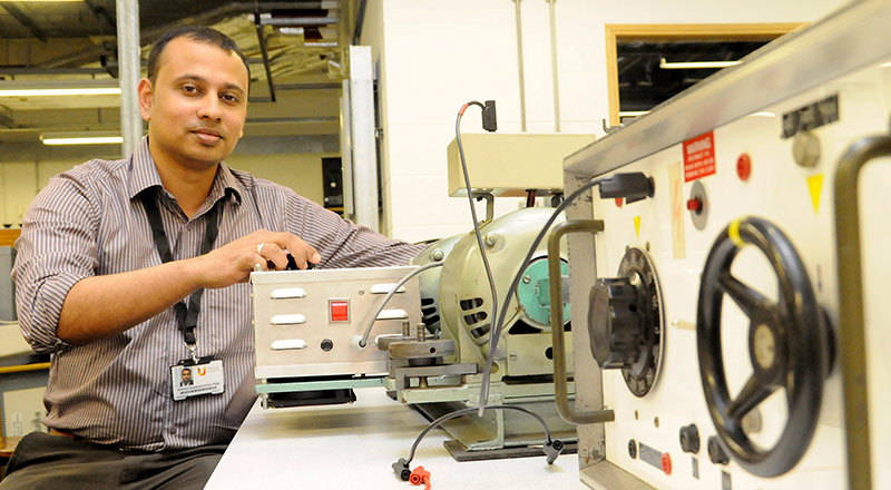 Dr Gobind Pillai, from Teesside University's School of Science and Engineering