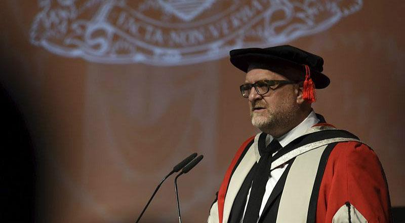 Honorary doctorate - John Barratt