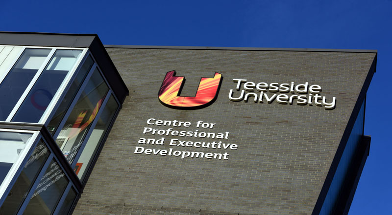 The Centre for Professional and Executive Development at Teesside University's Darlington campus.