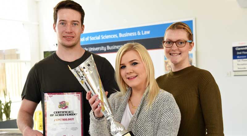 Double award for Psychology Society | Media centre