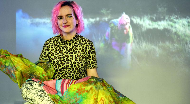Jen Chapman, BA (Hons) Fine Art . Link to Celebration of artistic work by Teesside University students.
