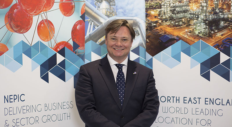 Iain Wright, Chief Executive of Nepic and DigitalCity board member.
