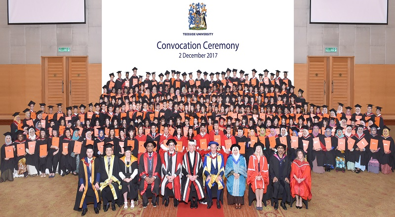 Link to Malaysia Convocation Ceremony 2017.