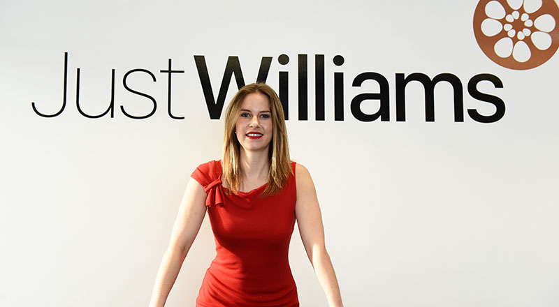 Jessica Williams, Managing Director of Just Williams