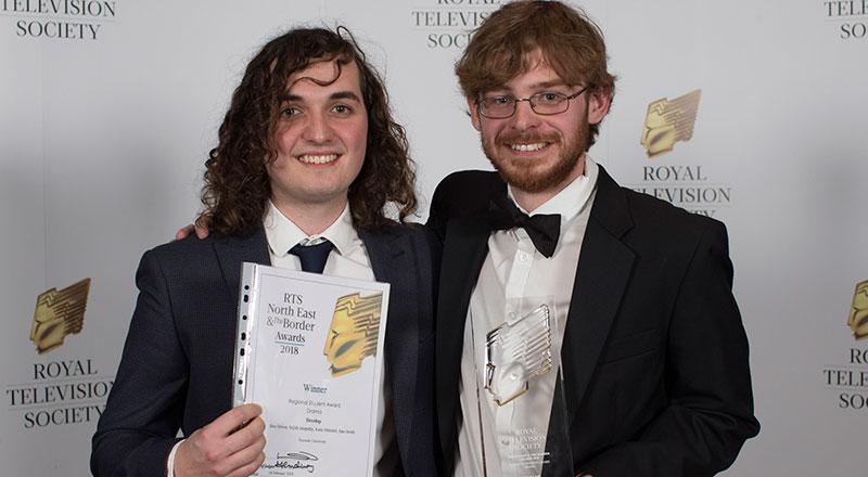Develop team: Ben Driver and Sam Smith. Image credit: Steve Brock, RTS