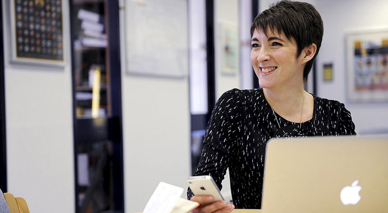 Dr Sophie Nicholls, Principal Lecturer (Humanities). Link to New project aims to change how Middlesbrough is seen.