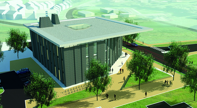 The National Horizons Centre in Darlington which is due to open in 2019.
