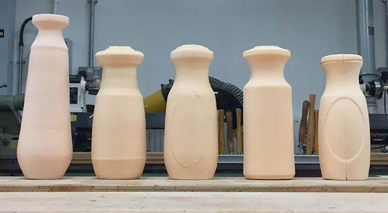 Milk bottle product development