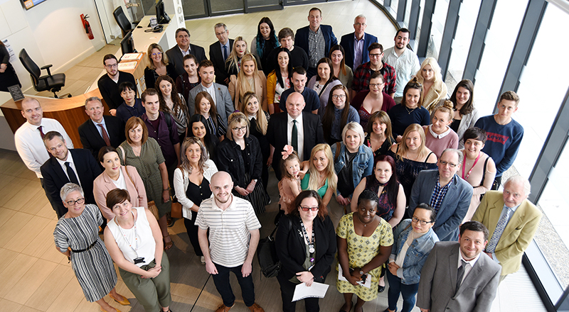 Recipients of prizes and scholarships met with donors at a special event at Teesside University. . Link to Recipients of prizes and scholarships met with donors at a special event at Teesside University. .