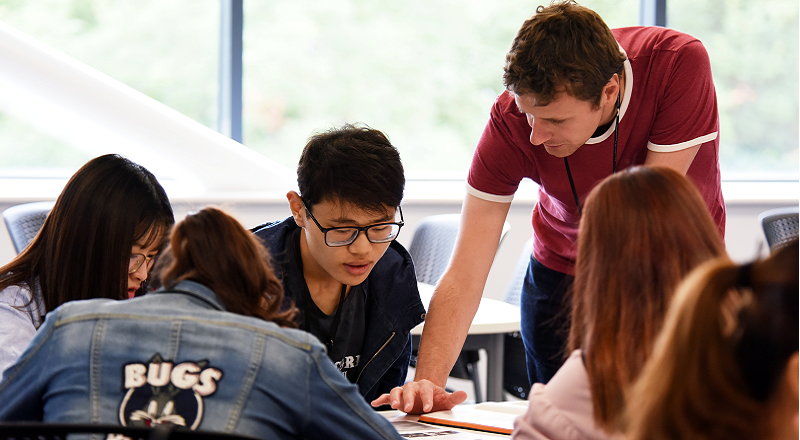 Link to New International Summer Programme at Teesside University.