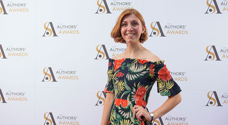 Jenna Clake, writer and Lecturer in Creative Writing (Image: Tom Pilston) . Link to University lecturer honoured with Society of Authors award.