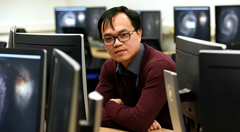 Dr The Anh Han, Senior Lecturer in Computer Science. Link to University awarded prestigious grant to investigate the AI race.