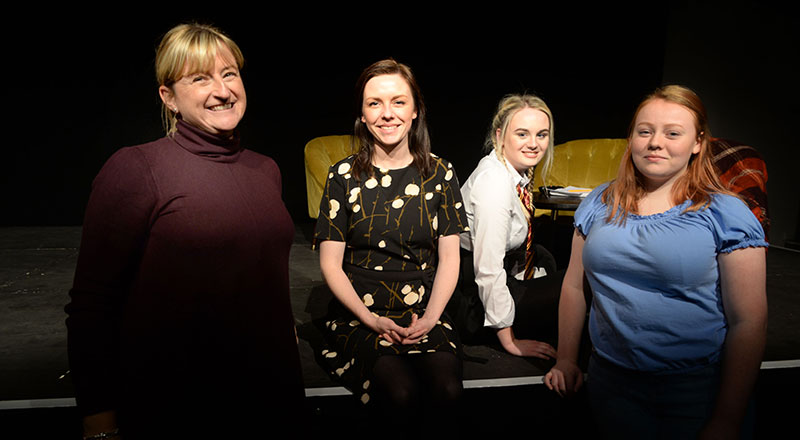 Fiona Helyer, Dr Sarah O'Brien, Beth Moore and Amy O'Leary (L-R)