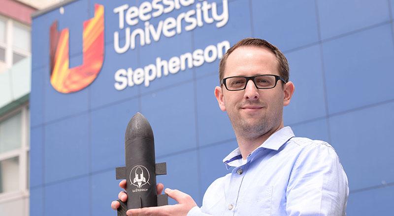 Andrew Dunn, co-founder of StratoBooster