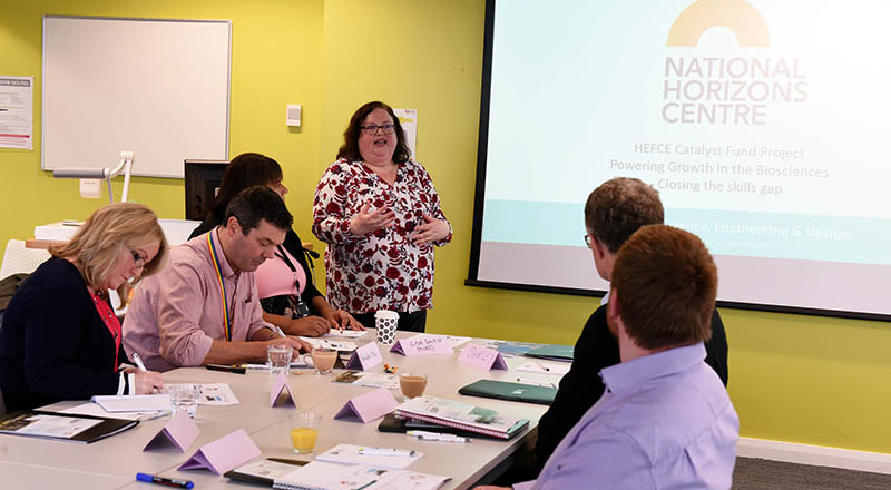 Focus groups are being held to determine the priorities for the new National Horizons Centre.