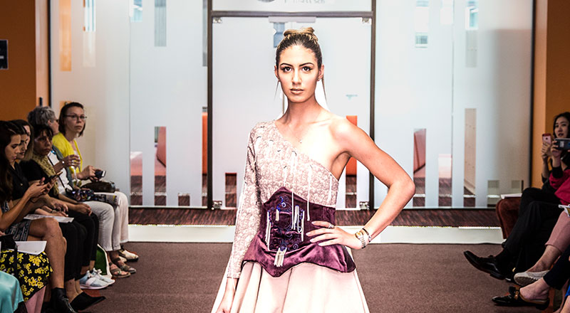 Link to Students display a passion for fashion.
