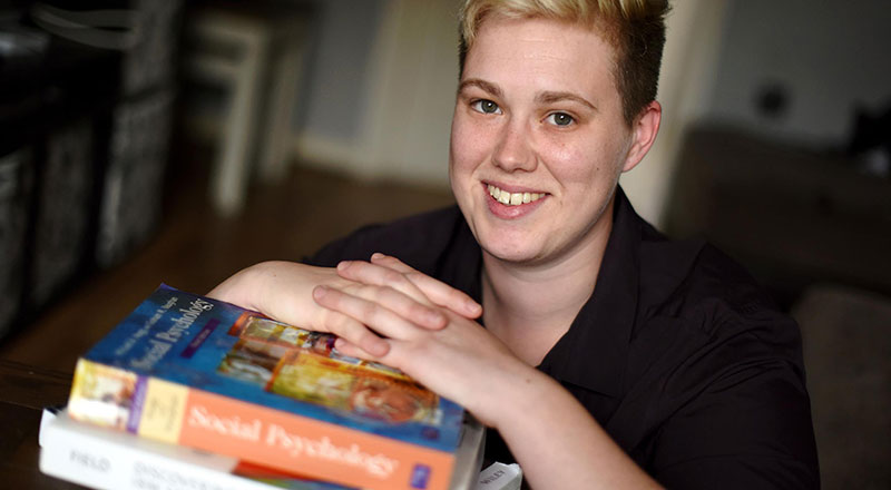 Link to Illness no barrier to student's success.